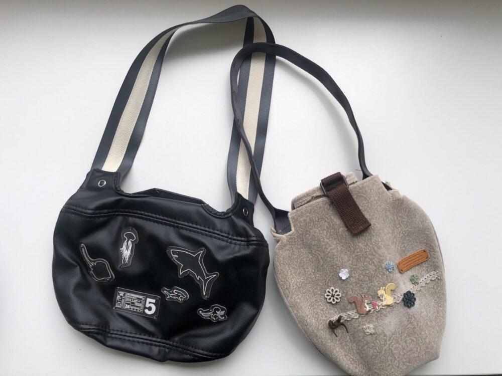 ヘッドレストカバー&シートベルトバッグ