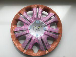 ホイールキャップ時計