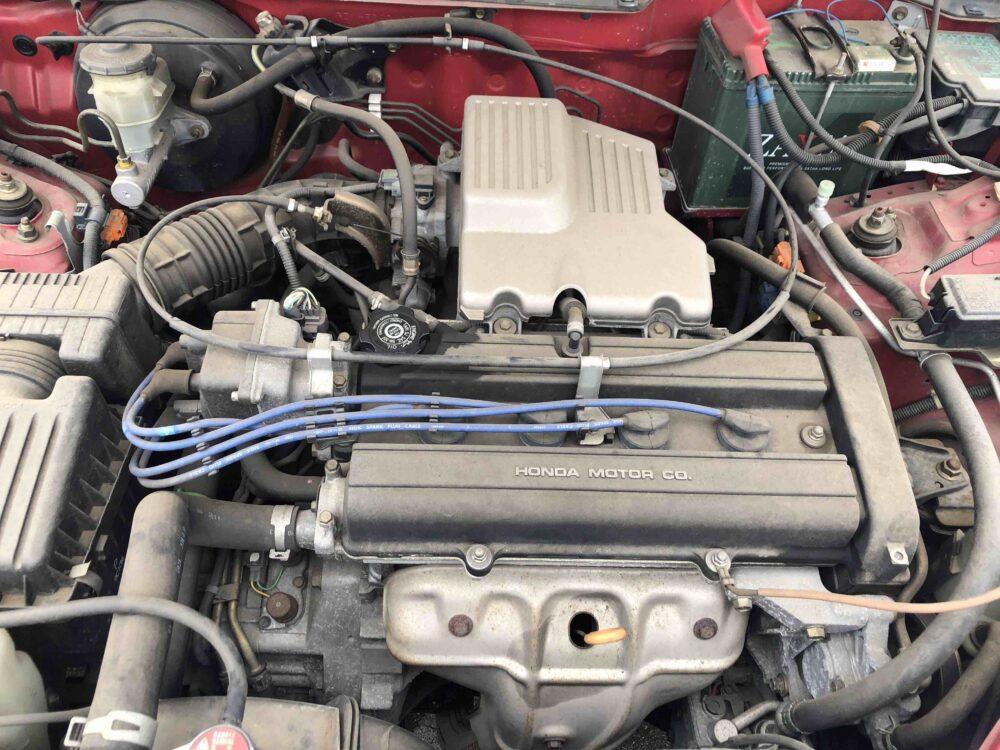 CR-Vのエンジン